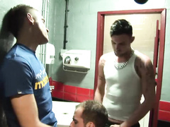 Hot-tempered gay boys get laid in various places