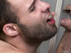 Dylan packs two lovers until they end up with cum