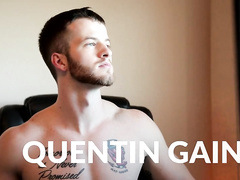 Quentin Gainz gets tight ass packed by Mark's cock