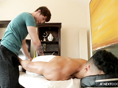 Scotty Zee is a massage therapist that adores fuck