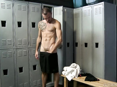 Jimmie Slater and Braxton Smith fuck in locker