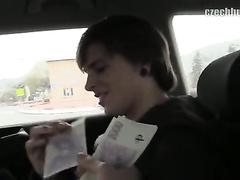 Cutie teen guy got seduced by gay taxi driver